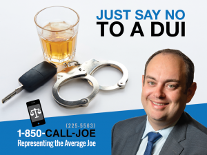 TRAFFIC STOP ADVICE: JUST SAY NO TO A DUI
